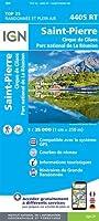 Saint-Pierre.  La Reunion 1 : 25  000