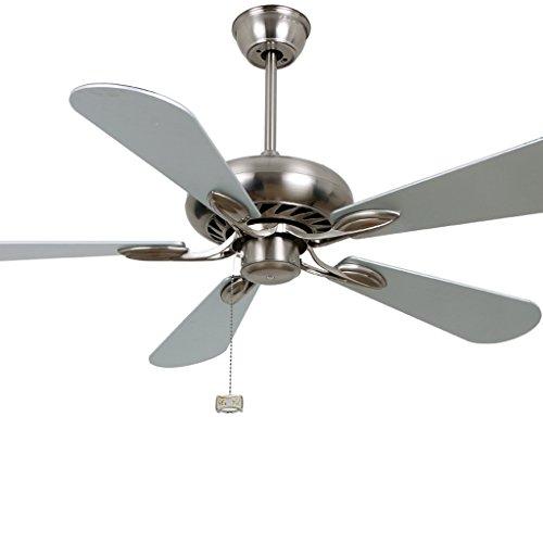 Plafondventilator, zonder licht, decoratie, ventilator voor restaurant, woonkamer, modern, middenstand, industriële ventilator, groot luchtvolume, geluidsarm, dubbele stroom. Wall Control