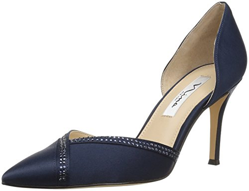 NINA Women's DIORA Pump, New Navy, 7.5 M US