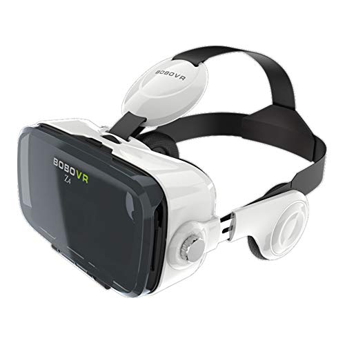 Qianyuyu BOBO VR Z4 Virtual Reality 3D Glasses/Headset for All 4.7-6.0 inch Smartphones. Comp with Android Nexus/Samsung/Lumia/LG/Huawei,White