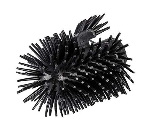WENKO Ersatz-Bürstenkopf Silikon schwarz