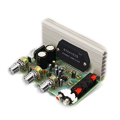 Módulo de Tarjeta de Audio Amplificador de Potencia Digital Estéreo, Stk DX-0408 Placa de Amplificador de Potencia de la Serie de Películas Gruesas de 2.0 Canales