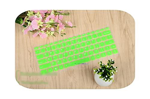 Teclado de protección teclado de 14 pulgadas para Lenovo Yoga 510 (14') 510-14Ikb 510-14Aff 510-14Ast 510 14Ikb 14Ais 14Ast 710 14 -Green