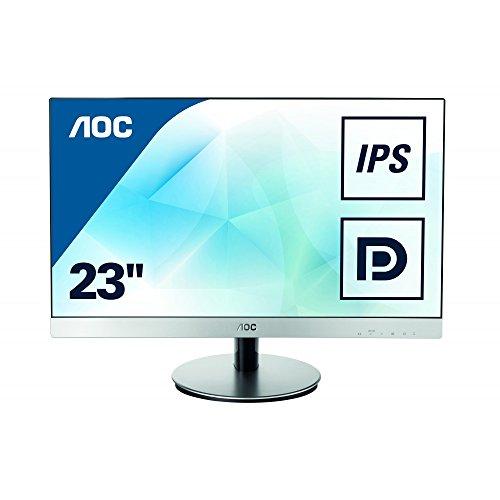 AOC I2369V 23 Full HD Widescreen LED Monitor 16:9 6ms 1920x1080 250 Nit 1000:1 DVI/VGA Black