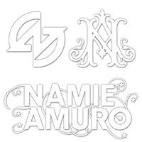 カッティングステッカーS 『Amuro』 白 022W