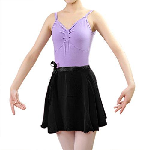 GOGO TEAM abbigliamento da ballo, gonnellino velato da balletto per bambini e adulti
