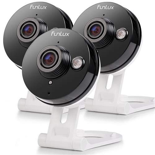 Funlux Wireless Two-Way Audio Home Security Camera (3 Pack) Smart HD WiFi