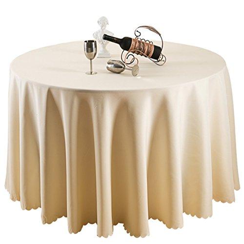 Heheja Hotel Tovaglia Restaurant Table Skirt Guesthouse Ristorante Rotonda Tovaglia Beige 300cm