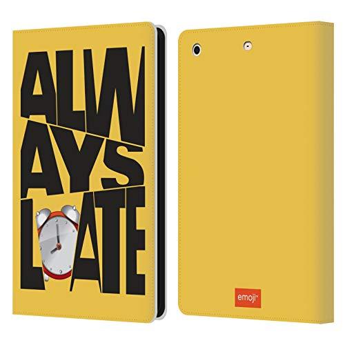 Head Case Designs Oficial Emoji Tarde Millenials Carcasa de Cuero Tipo Libro Compatible con Apple iPad Mini 1 / Mini 2 / Mini 3
