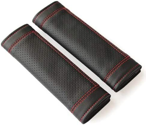 jianzhong 2Pcs PU Nashville-Davidson Mall Leather Car Shoulder Seat Sets Cheap bargain Belt Pad