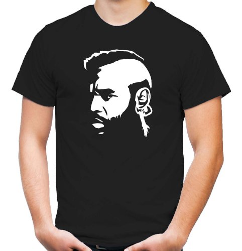 Mr. T T-Shirt | B.A. Baracus | A-Team | Hannibal | GMC | US Action (XXL)