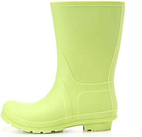 new style 538f0 031a4 MLENR Regenstiefel für Damen Regenstiefel für Damen ...