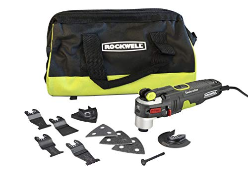 Find Cheap Rockwell AW400 Sonicrafter 4.2 Amp Oscillating Multi-Tool with 9 Accessories and Carry Ba...