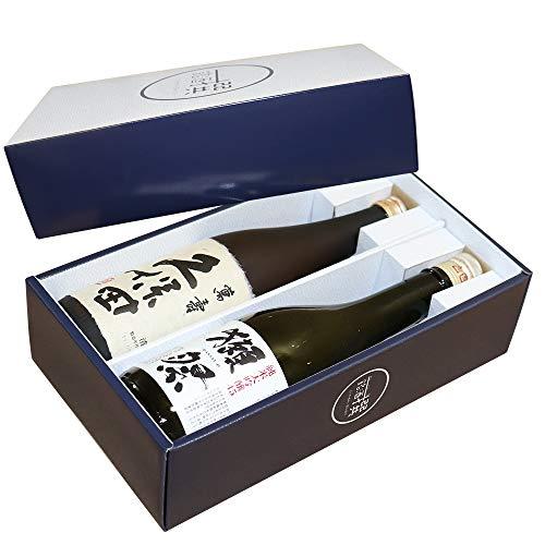 人気日本酒銘酒撰獺祭磨き45純米大吟醸久保田萬寿(純米大吟醸)飲み比べ720ml×2本銘酒撰オリジナルギフト箱入り