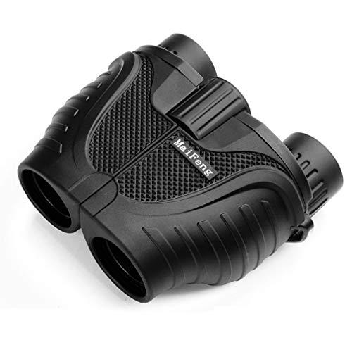 Mini binoculares 10X25, Todo Óptico, Telescopio HD, Brillo de película Verde, Impermeable, Adecuado para conciertos, Observación de Aves, Viajes, Turismo