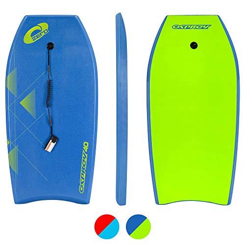 Osprey Zero, Bodyboard con guinzaglio Boogie Board per Bambini...
