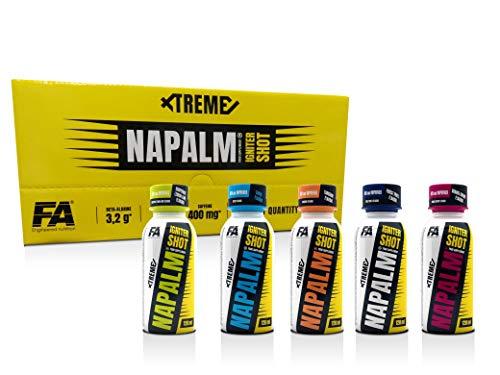 FA Xtreme Napalm IGNITER Shot – 24 X 120 ML Box – Mixbox – almeno 4 diversi gusti.