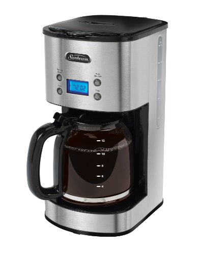 Sunbeam Programmable Coffeemaker Stainless Steel