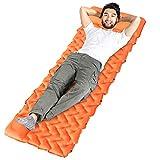 Idefair Colchoneta Inflable para Dormir, Ultraligero, inflado rápido, colchonetas para Acampar, colchón Impermeable para...