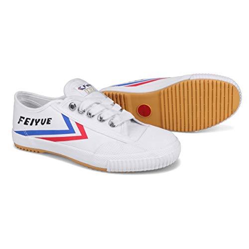 FEIYUE FE LO 1920 Canvas Sneaker, weiß blau rot, 37 EU