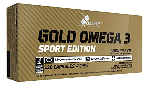 Olimp Sport Nutrition Gold Omega 3 Sport Edition - 120 caps