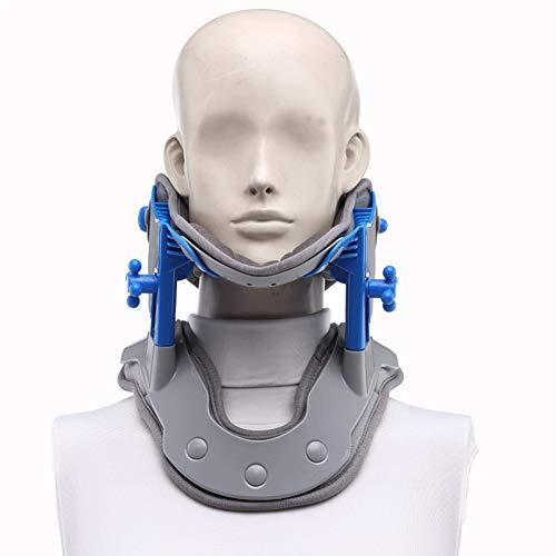 JJDD Collare Trazione Cervicale Alleviare Dolore Unit di correzione per la Cura della Colonna vertebrale Regolabile per la fissazione del Collo