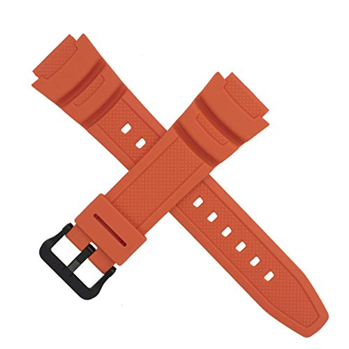 Correa de reloj Casio para W-218H 4B2V W 218H 218 naranja 10569213