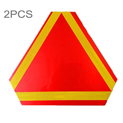 Tiantingting 2 PCS camión de Remolque Trasero Triángulo