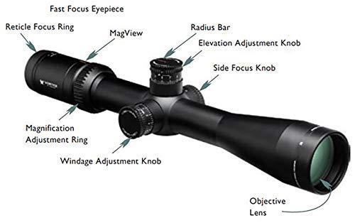 Vortex Optics Viper HS-T 6-24x50 SFP Riflescope VMR-1 MOA , black