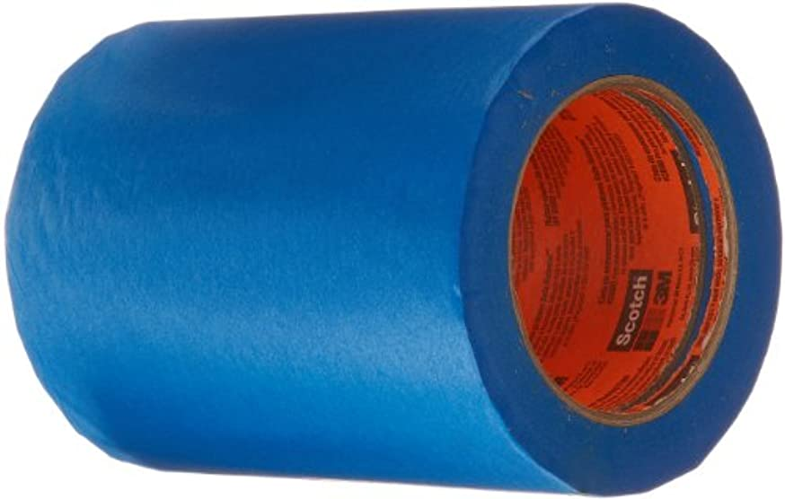3M 2080 ScotchBlue Painters Tape – 0.188 in. (W) x 180 ft. (L) Masking Tape Roll for Low, Medium Adhesion. Tapes and Adhesives
