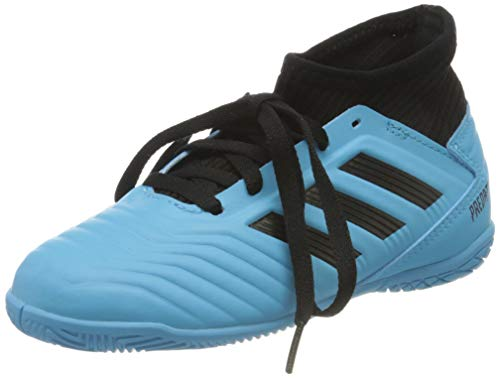 adidas Unisex-Child G25807_30 Indoor Football Trainers, Brcyan Cblack SYELLO, EU
