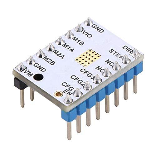Con pegatina Reprap con accesorio 1A Placa de controlador de motor paso a paso de corriente máxima, controlador de motor paso a paso, TMC2208 / TMC2100 / TMC2130 para(TMC2100)