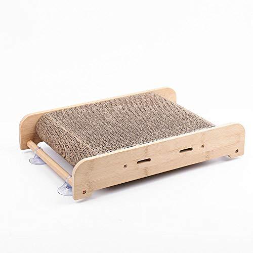 Dubleir Cat Scratcher Lounge, Tunnel Cat Scratching Pad Bed Lounge con Cartone Durevole Catnip e Costruzione