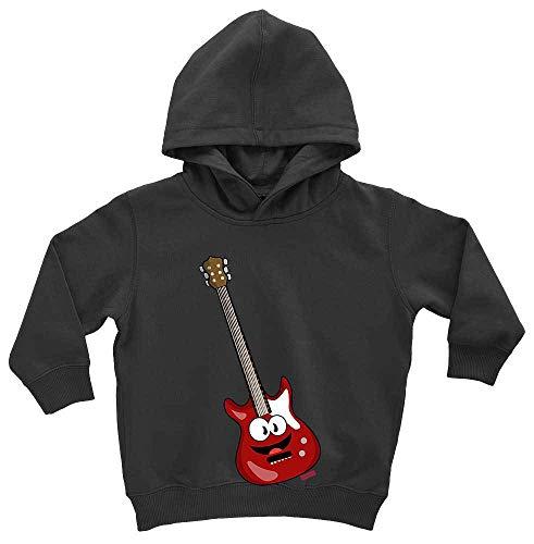 HARIZ - Sudadera con Capucha para niño, Guitarra eléctrica, Instrumento de Sonrisa y Tarjeta de Regalo