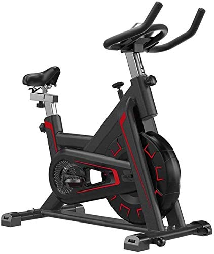 WGFGXQ Bicicleta giratoria Volante Completamente Envuelto con Alto Ciclismo en Interiores Bicicleta estática silenciosa Equipo de Fitness con Soporte para computadora de Tableta Ciclos de Estudio e