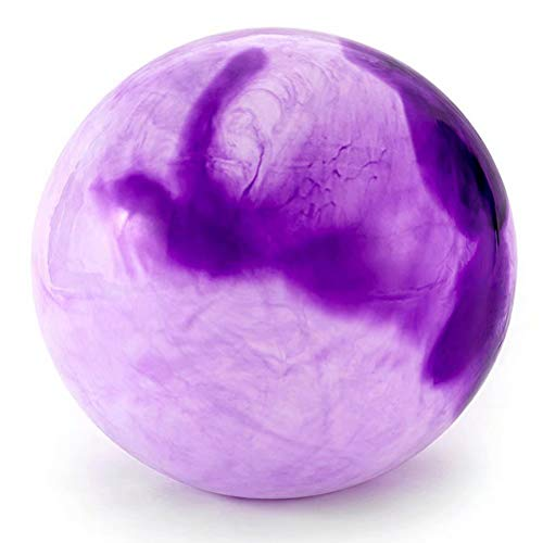 JABAVE,Mini-Gymnastikball für Pilates Balance Ball Fitness Explosionssicherer Schlupf Fitness Ball Core Strength Rückenübungen,violett-2-60cm