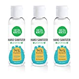 Fresh Monster Hand Sanitizer, 70% Ethyl Alcohol, Made in USA, Mini Travel size (3 Pack x 2 oz) - Unscented