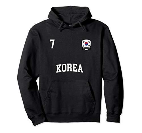 Korea Hoodie 7 Korean Flag Soccer Team Football Shirt