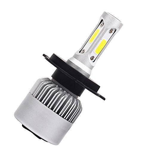 Leaftree LED Phare LED Antibrouillard Universel Haute Puissance S2 H4 / HB2 / 9003 8000LM Ampoules