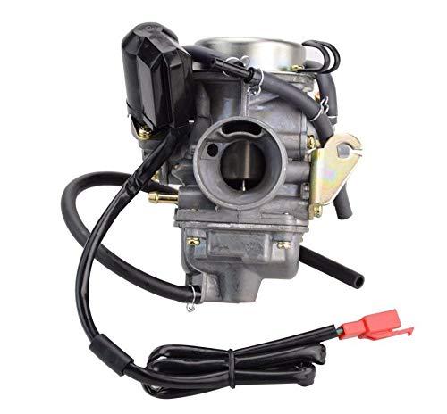 Carburetor for Hammerhead Twister 150 Series 150CC Go Kart Repl.OE# 6.000.024 TJ Power Sports 16100-KAT-913/16100-KAT-913-1