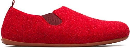 Camper WABI, Zapatillas de Estar por casa para Hombre, Rojo (Dark Red 600), 41 EU