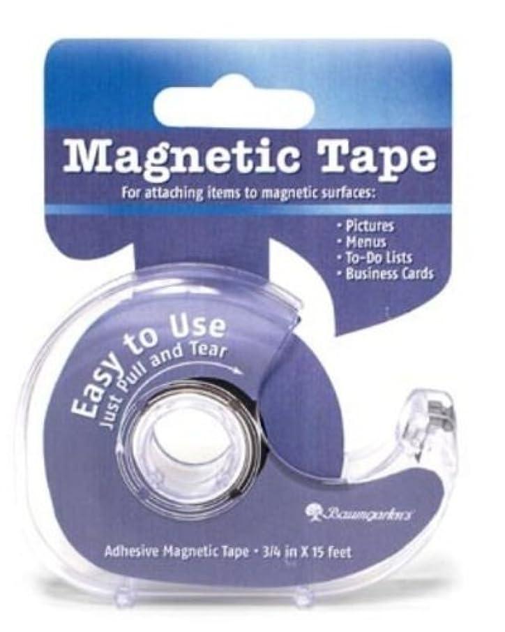 Baumgartens Magnetic Tape with Dispenser, Multicolour