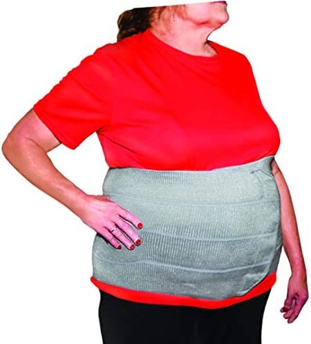 StrictlyStability 4XL Plus Size Bariatric Abdominal Binder Hernia Support Post Surgery Tummy product image