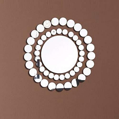 BLOUR Nueva Etiqueta de la Pared de acrílico Pegatinas 3D decoración del hogar de la Vendimia decoración de la habitación Etiqueta engomada del Espejo DIY Sala de Estar Moderna