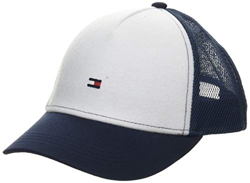 Tommy Hilfiger Patches Trucker Casquette De Baseball, Bleu (Corporate Mix 0gy), Medium (Taille Fabricant: S-M) Mixte