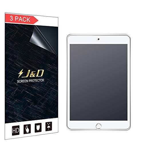 JundD Kompatibel für 3-Pack iPad Mini 5/iPad Mini 4 Schutzfolie, [Antireflektierend] [Nicht Ganze Deckung] [Anti Fingerabdruck] Matte Folie Bildschirmschutzfolie für iPad Mini 5, iPad Mini 4 Bildschirmschutz