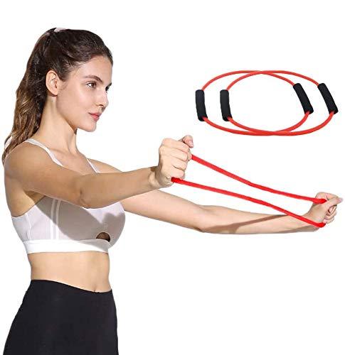 WENTS Cuerda de Yoga Bandas Elasticas Fitness/Bandas de Resistencia Bandas de Ejercicio Bandas Elásticas de Entrenamiento para Yoga Pilates Estiramientos Fisioterapia