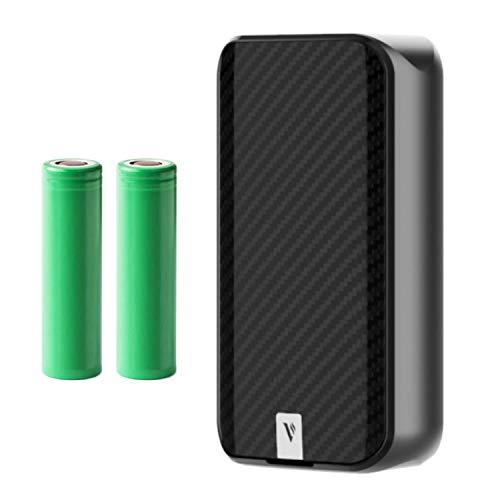 Vaporesso Luxe 2 Mod (220 W) Akkuträger 5000 mAh Mod Box E-Zigarette (nikotinfrei) (schwarz)