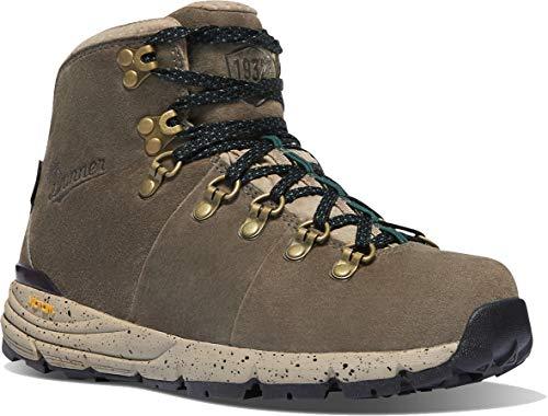 "Danner Women's 62256 Mountain 600 4.5"" Waterproof Hiking Boot, Hazelwood/Balsam Green - 10.5 M"