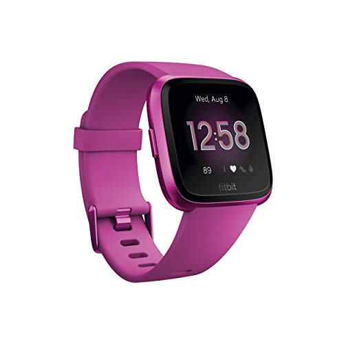Fitbit Versa Lite Edition Smart Watch, One Size (S and L...
